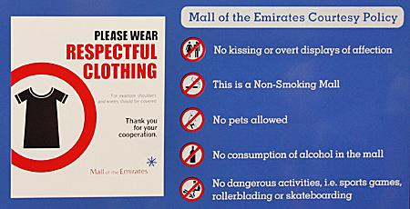 Dubai Gesetze